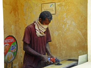 A Carpenter in Galle