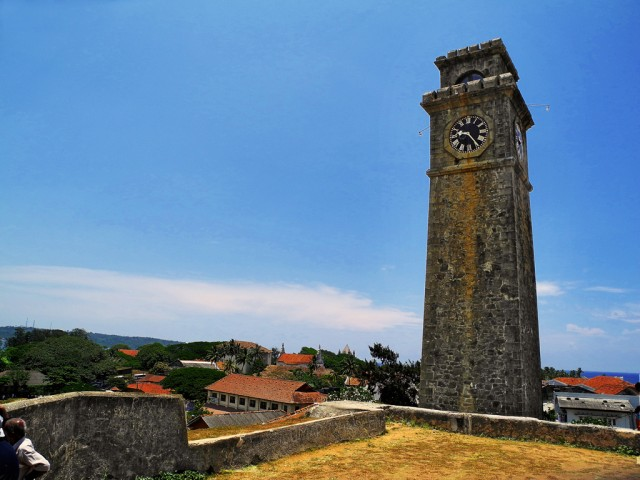Clock Tower Plus Galle Town View