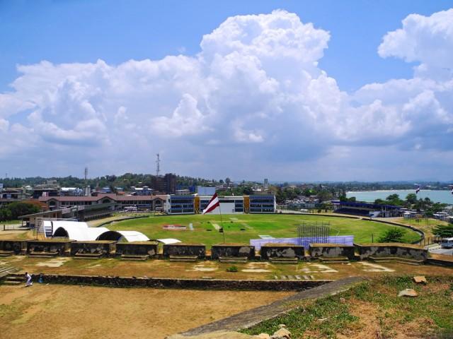 Cricket Stadium Beside Galle Fort