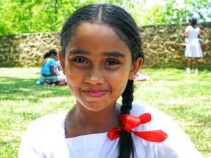 Girl in Galle Sri Lanka