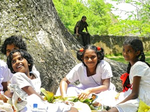 Girls Having Picnic Galle