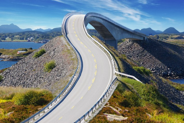 Atlantic Road, Norway