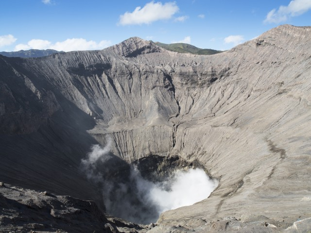 Crater of Bromo Volcano