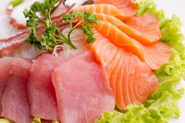 Japanese food sashimi set