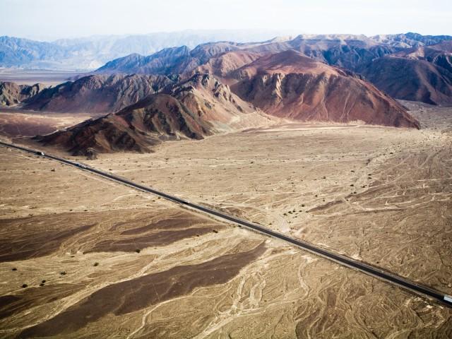 Pan-americana near Nazca