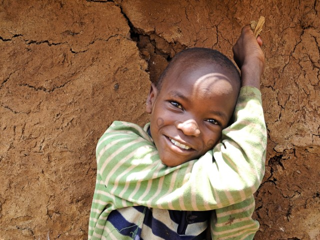 8 year old Maasai boy