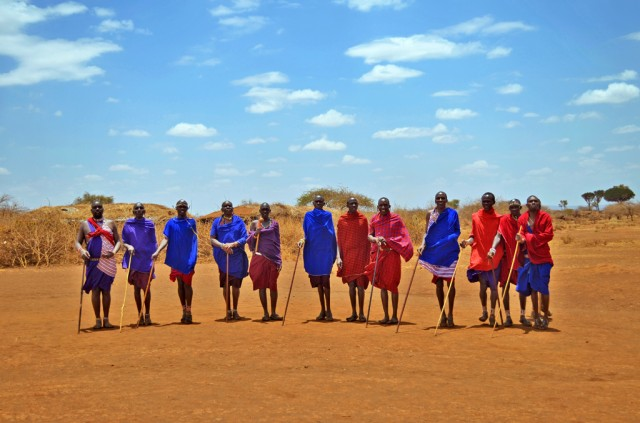 You have to go to Maasai Village!