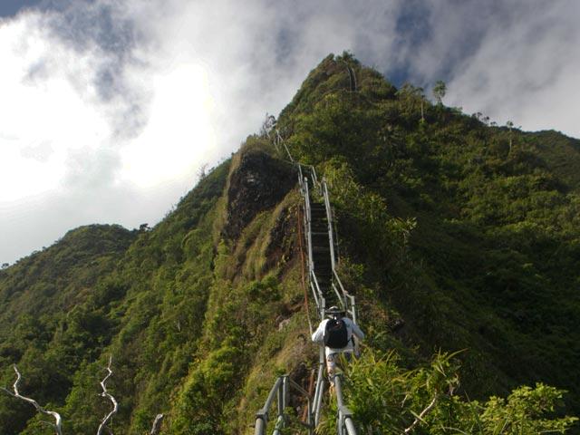 Haiku Stairs, Hawaii, United States