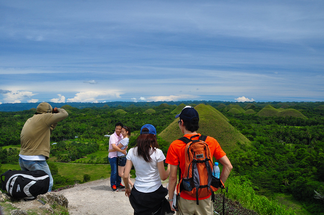 Back at the Chocolate Hills,