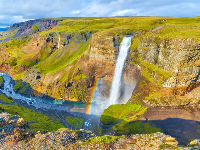 Haifoss Waterfalls