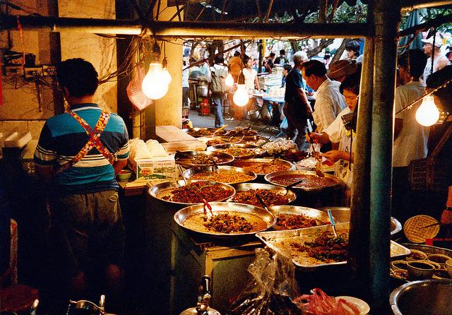 Street Restaurant in Bangkok