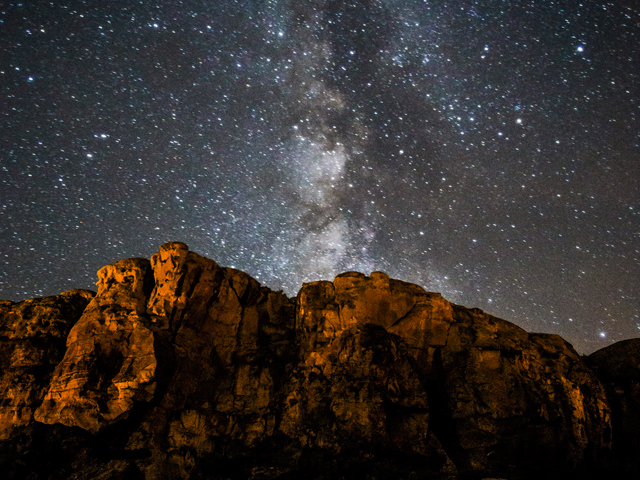 Star Gazing in Chaco Canyon National Park