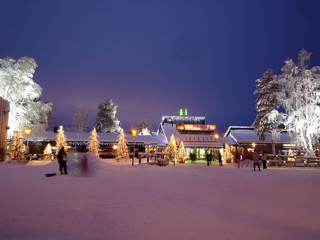 Christmas in Santa Claus Village