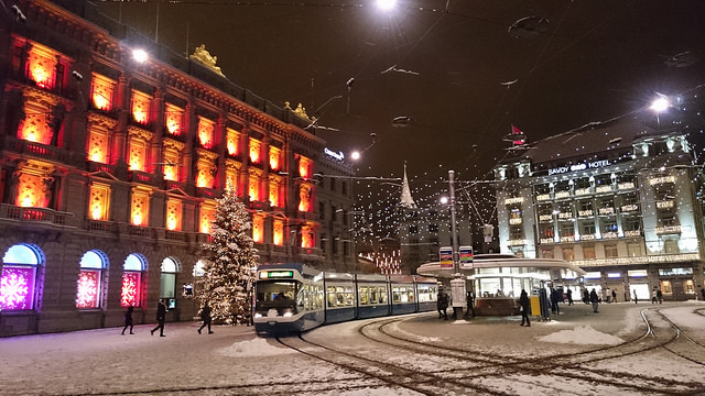 Christmas in Zürich City