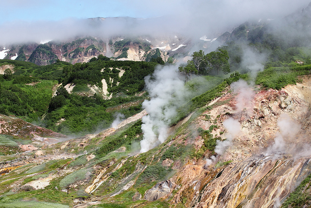 The Valley of Geysers