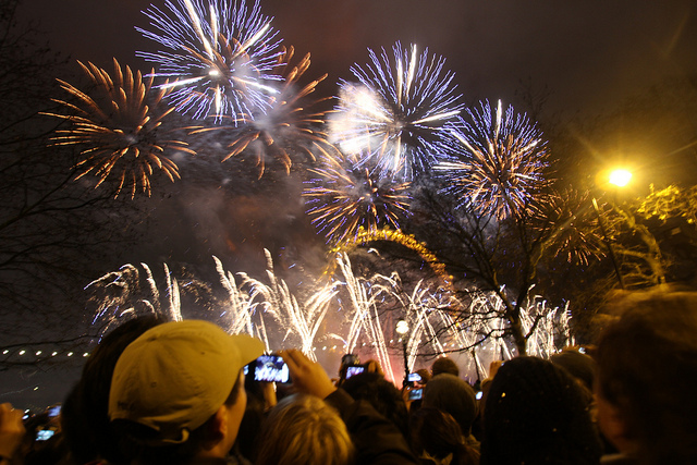 London New Year Eve