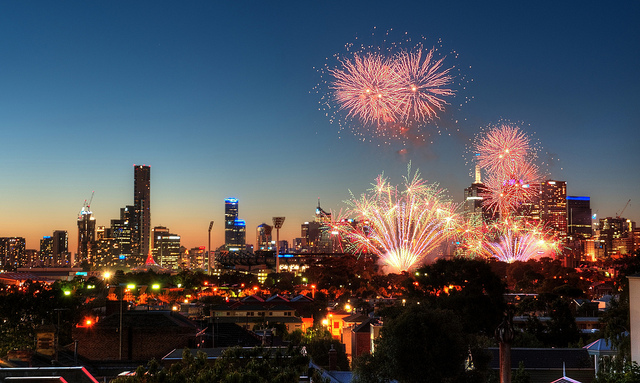 Melbourne New Year Eve