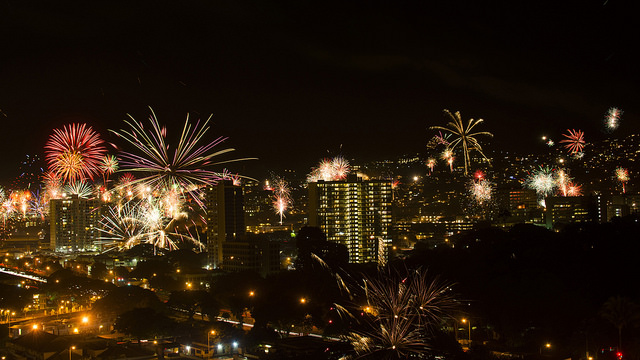 Oahu New Year Eve