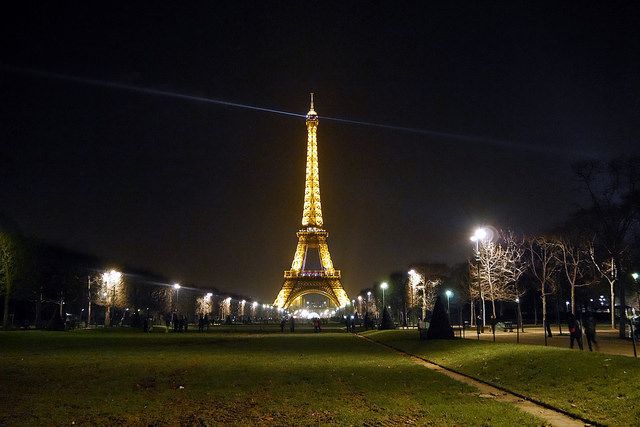Paris New Year Eve